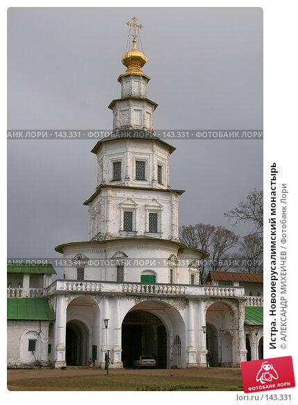Купить «Истра. Новоиерусалимский монастырь», фото № 143331, снято 8 апреля 2007 г. (c) АЛЕКСАНДР МИХЕИЧЕВ / Фотобанк Лори