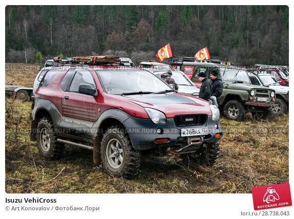 Купить «Isuzu VehiCross», фото № 28738043, снято 31 октября 2009 г. (c) Art Konovalov / Фотобанк Лори