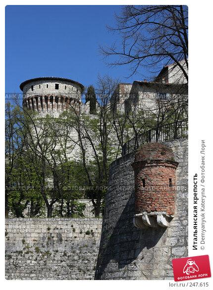 Итальянская крепость, фото № 247615, снято 4 апреля 2008 г. (c) Demyanyuk Kateryna / Фотобанк Лори