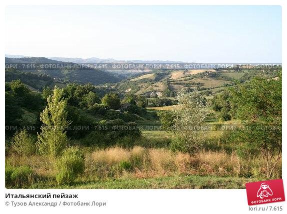 Итальянский пейзаж, фото № 7615, снято 19 августа 2006 г. (c) Тузов Александр / Фотобанк Лори