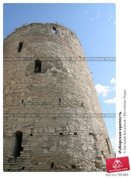 Изборская крепость, фото № 89483, снято 18 августа 2007 г. (c) Евгений Батраков / Фотобанк Лори
