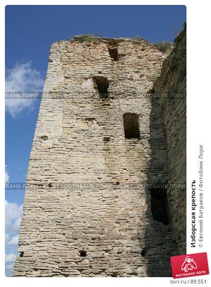 Изборская крепость, фото № 89551, снято 18 августа 2007 г. (c) Евгений Батраков / Фотобанк Лори
