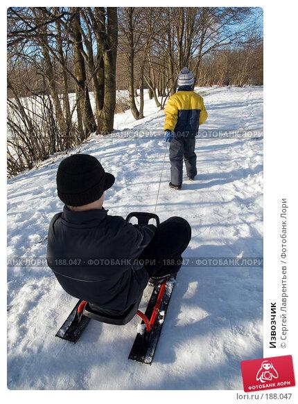 Извозчик, фото № 188047, снято 27 января 2008 г. (c) Сергей Лаврентьев / Фотобанк Лори