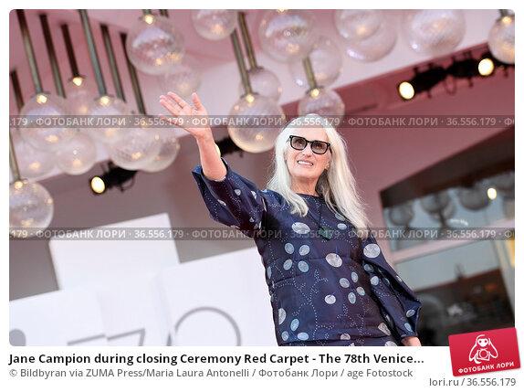 Jane Campion during closing Ceremony Red Carpet - The 78th Venice... Редакционное фото, фотограф Bildbyran via ZUMA Press/Maria Laura Antonelli / age Fotostock / Фотобанк Лори