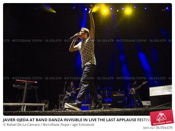 JAVIER OJEDA AT BAND DANZA INVISIBLE IN LIVE THE LAST APPLAUSE FESTIVAL... Редакционное фото, фотограф Rafael De La Camara / age Fotostock / Фотобанк Лори