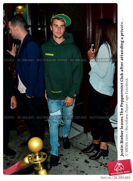 Купить «Justin Bieber leaves The Peppermint Club after attending a private church event Featuring: Justin Bieber Where: Los Angeles, California, United States When: 06 Aug 2017 Credit: WENN.com», фото № 30399843, снято 6 августа 2017 г. (c) age Fotostock / Фотобанк Лори