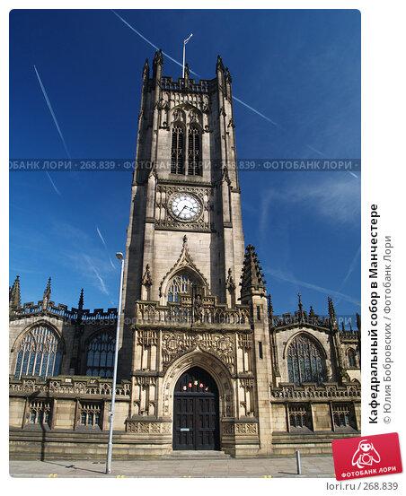 Кафедральный собор в Манчестере, фото № 268839, снято 30 апреля 2007 г. (c) Юлия Бобровских / Фотобанк Лори