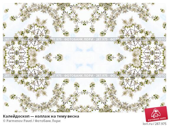 Калейдоскоп — коллаж на тему весна, фото № 287975, снято 10 мая 2008 г. (c) Parmenov Pavel / Фотобанк Лори
