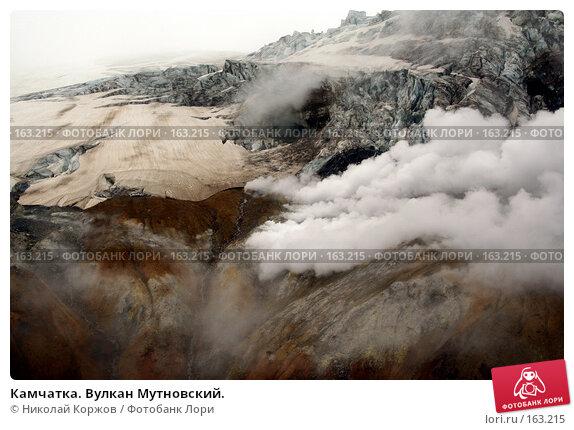 Камчатка. Вулкан Мутновский., фото № 163215, снято 27 июня 2007 г. (c) Николай Коржов / Фотобанк Лори