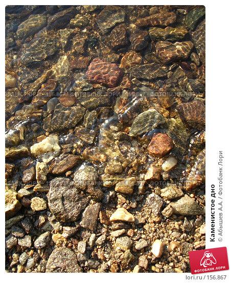 Каменистое дно, фото № 156867, снято 14 июля 2007 г. (c) Абышев А.А. / Фотобанк Лори