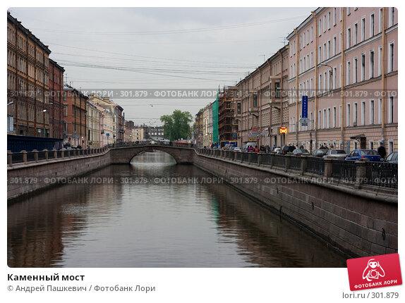 Каменный мост, фото № 301879, снято 7 мая 2008 г. (c) Андрей Пашкевич / Фотобанк Лори