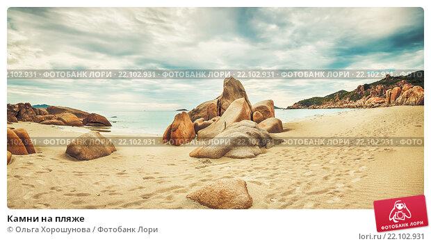 Купить «Камни на пляже», фото № 22102931, снято 30 июля 2012 г. (c) Ольга Хорошунова / Фотобанк Лори
