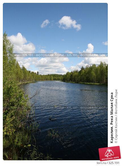 Карелия. Река Малая Суна, фото № 325191, снято 13 июня 2008 г. (c) Сергей Костин / Фотобанк Лори