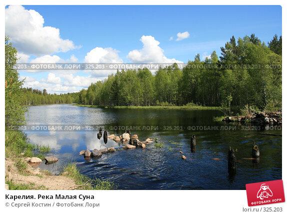 Карелия. Река Малая Суна, фото № 325203, снято 13 июня 2008 г. (c) Сергей Костин / Фотобанк Лори