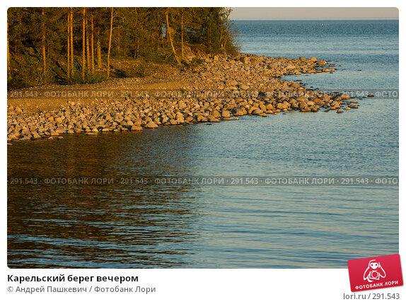 Купить «Карельский берег вечером», фото № 291543, снято 1 июня 2007 г. (c) Андрей Пашкевич / Фотобанк Лори
