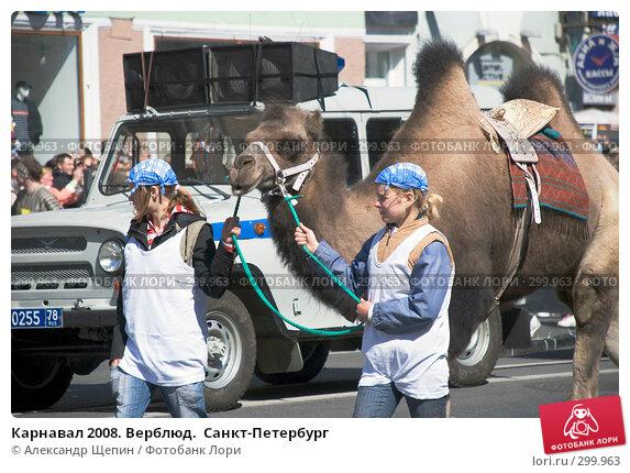 Карнавал 2008. Верблюд.  Санкт-Петербург, эксклюзивное фото № 299963, снято 24 мая 2008 г. (c) Александр Щепин / Фотобанк Лори