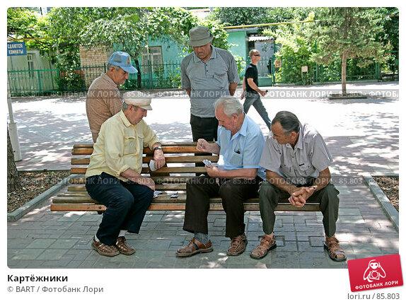 Картёжники, фото № 85803, снято 10 июня 2007 г. (c) BART / Фотобанк Лори