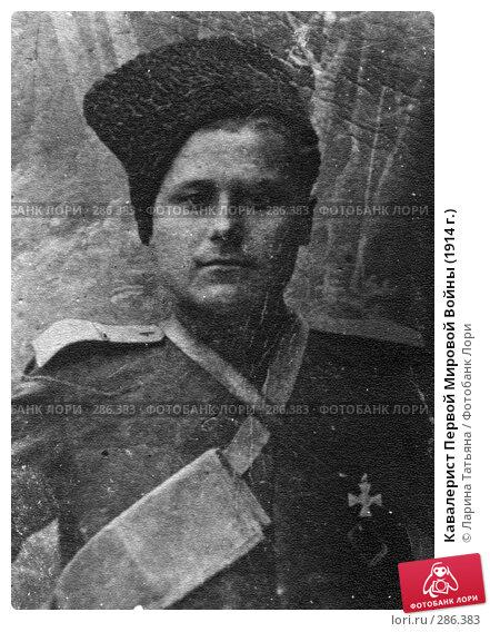 Кавалерист Первой Мировой Войны (1914 г.), фото № 286383, снято 29 мая 2017 г. (c) Ларина Татьяна / Фотобанк Лори