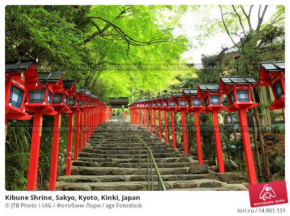 Купить «Kibune Shrine, Sakyo, Kyoto, Kinki, Japan», фото № 14901131, снято 19 июня 2018 г. (c) age Fotostock / Фотобанк Лори