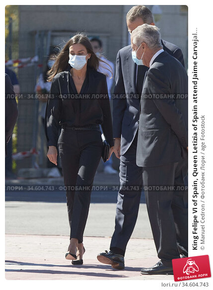 King Felipe VI of Spain, Queen Letizia of Spain attend Jaime Carvajal... Редакционное фото, фотограф Manuel Cedron / age Fotostock / Фотобанк Лори