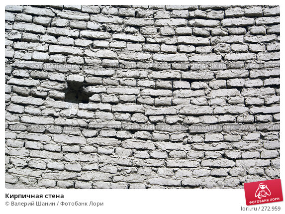 Кирпичная стена, фото № 272959, снято 28 ноября 2007 г. (c) Валерий Шанин / Фотобанк Лори