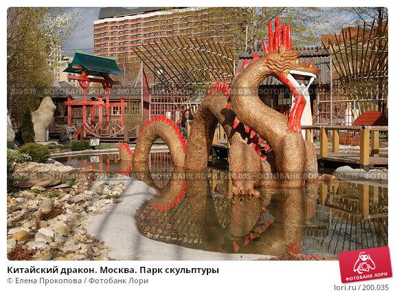 Купить «Китайский дракон. Москва. Парк скульптуры», фото № 200035, снято 20 апреля 2007 г. (c) Елена Прокопова / Фотобанк Лори