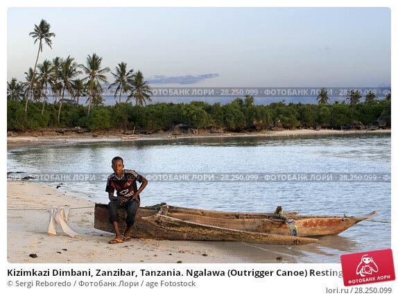 Купить «Kizimkazi Dimbani, Zanzibar, Tanzania. Ngalawa (Outrigger Canoe) Resting on the Beach.», фото № 28250099, снято 10 января 2018 г. (c) age Fotostock / Фотобанк Лори