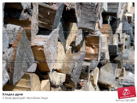 Купить «Кладка дров», фото № 321091, снято 18 мая 2008 г. (c) Боев Дмитрий / Фотобанк Лори