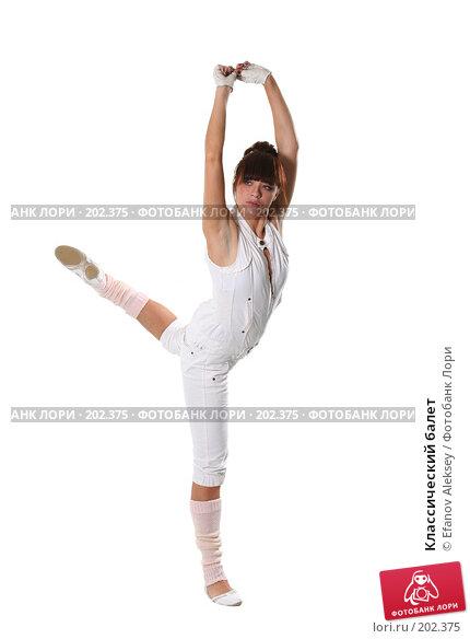 Классический балет, фото № 202375, снято 9 февраля 2008 г. (c) Efanov Aleksey / Фотобанк Лори