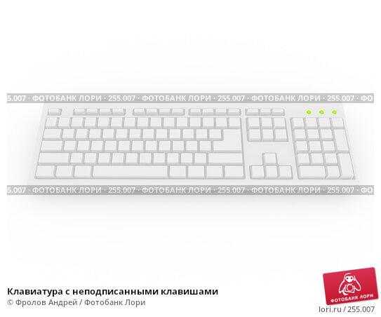 Клавиатура с неподписанными клавишами, фото № 255007, снято 28 июня 2017 г. (c) Фролов Андрей / Фотобанк Лори