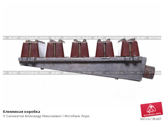 Клеммная коробка, фото № 38667, снято 5 октября 2005 г. (c) Саломатов Александр Николаевич / Фотобанк Лори