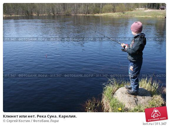Клюнет или нет. Река Суна. Карелия., фото № 311347, снято 24 мая 2008 г. (c) Сергей Костин / Фотобанк Лори