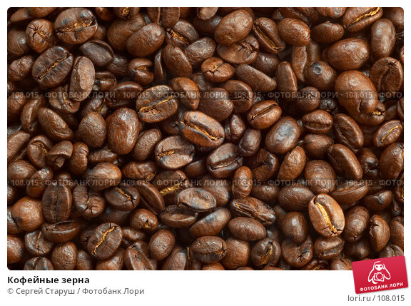Кофейные зерна, фото № 108015, снято 12 февраля 2007 г. (c) Сергей Старуш / Фотобанк Лори