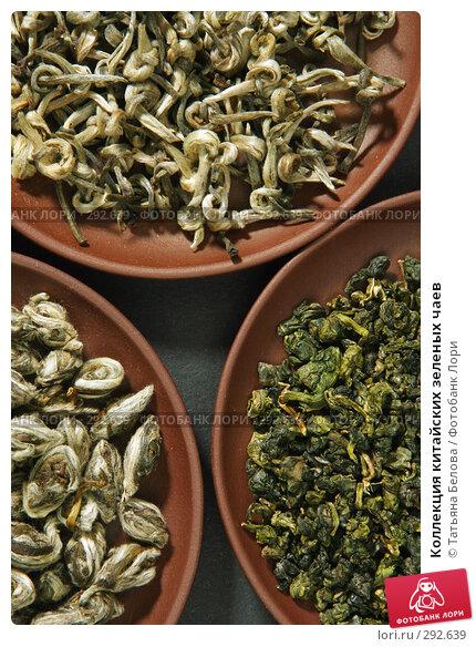 Коллекция китайских зеленых чаев, фото № 292639, снято 10 мая 2008 г. (c) Татьяна Белова / Фотобанк Лори