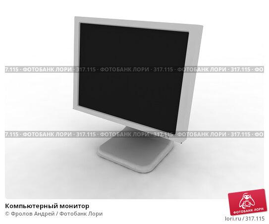 Компьютерный монитор, фото № 317115, снято 21 октября 2016 г. (c) Фролов Андрей / Фотобанк Лори