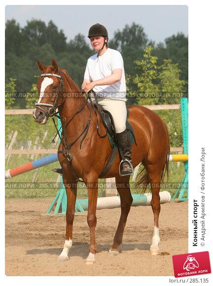 Конный спорт, фото № 285135, снято 8 июля 2006 г. (c) Андрей Армягов / Фотобанк Лори