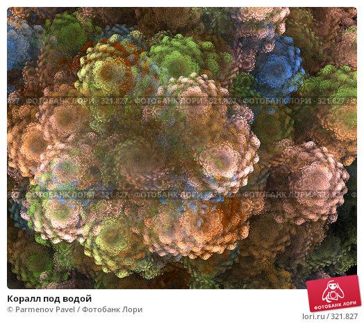 Коралл под водой, иллюстрация № 321827 (c) Parmenov Pavel / Фотобанк Лори