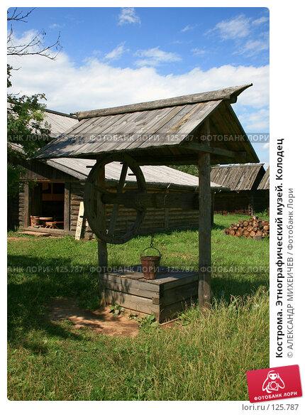 Кострома. Этнографический музей. Колодец, фото № 125787, снято 7 июля 2007 г. (c) АЛЕКСАНДР МИХЕИЧЕВ / Фотобанк Лори