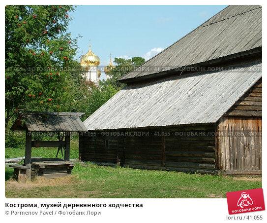 Кострома, музей деревянного зодчества, фото № 41055, снято 15 августа 2006 г. (c) Parmenov Pavel / Фотобанк Лори