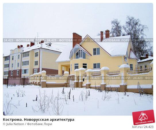 Кострома. Новорусская архитектура, фото № 24423, снято 16 ноября 2004 г. (c) Julia Nelson / Фотобанк Лори