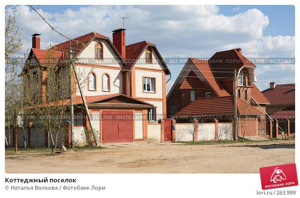 Коттеджный поселок, эксклюзивное фото № 263999, снято 25 марта 2017 г. (c) Наталья Волкова / Фотобанк Лори