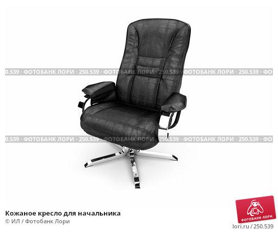 Кожаное кресло для начальника, иллюстрация № 250539 (c) ИЛ / Фотобанк Лори