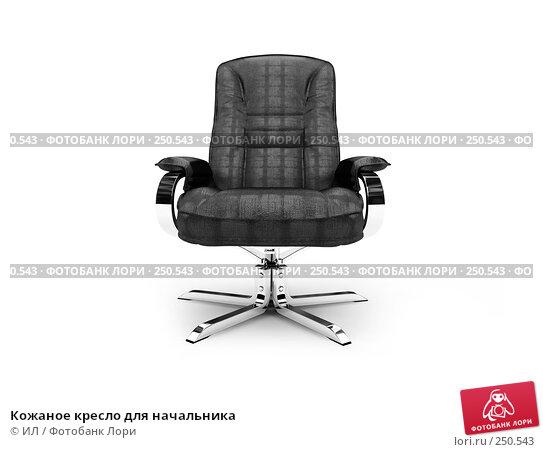 Кожаное кресло для начальника, иллюстрация № 250543 (c) ИЛ / Фотобанк Лори