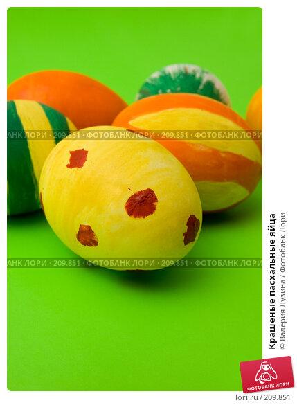 Крашеные пасхальные яйца, фото № 209851, снято 26 февраля 2008 г. (c) Валерия Потапова / Фотобанк Лори