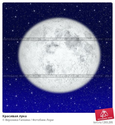 Красивая луна, иллюстрация № 293295 (c) Вероника Галкина / Фотобанк Лори