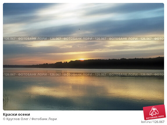 Купить «Краски осени», фото № 126067, снято 25 апреля 2018 г. (c) Круглов Олег / Фотобанк Лори