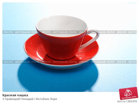 Красная чашка, фото № 259915, снято 7 января 2005 г. (c) Кравецкий Геннадий / Фотобанк Лори