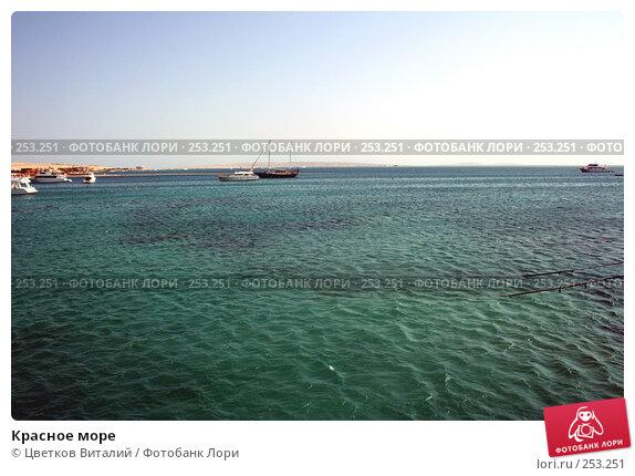 Купить «Красное море», фото № 253251, снято 26 октября 2007 г. (c) Цветков Виталий / Фотобанк Лори
