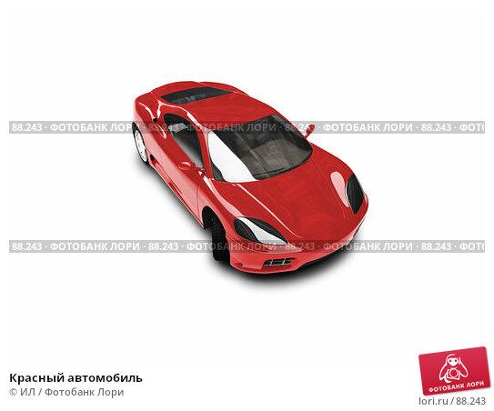 Красный автомобиль, иллюстрация № 88243 (c) ИЛ / Фотобанк Лори
