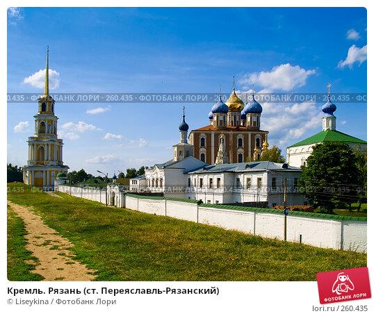 Кремль. Рязань (ст. Переяславль-Рязанский), фото № 260435, снято 24 июля 2006 г. (c) Liseykina / Фотобанк Лори